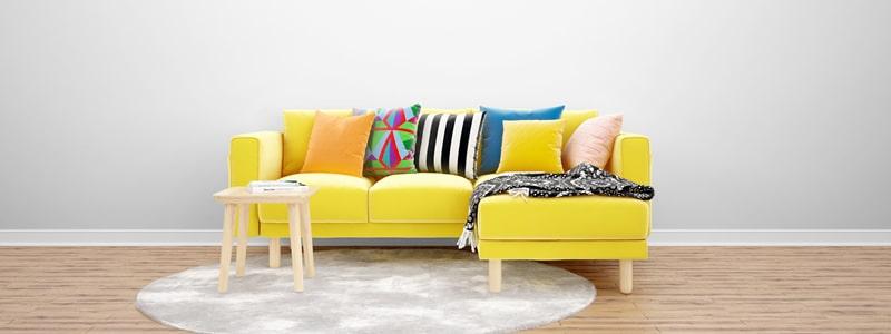 Transformando os espaços com almofadas decorativas
