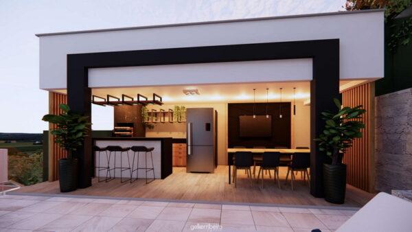Confira as dicas para construir uma área gourmet em sua casa